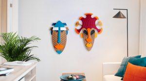 maski dekoracyjne na sciane surfingonion